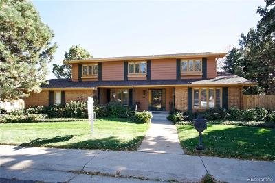 Denver Single Family Home Active: 7684 East Jefferson Drive