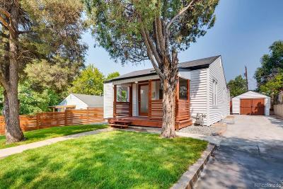 Denver Single Family Home Active: 640 Stuart Street