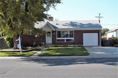 Northglenn Single Family Home Active: 1042 Leroy Drive