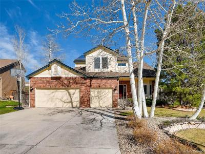 Highlands Ranch Single Family Home Active: 9966 Ramshead Court