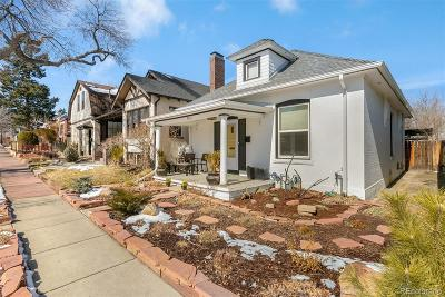 Single Family Home Sold: 4531 West 33rd Avenue