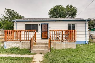 Commerce City Single Family Home Under Contract: 6550 Niagara Street