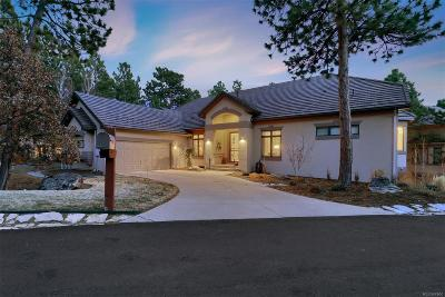 Castle Rock Single Family Home Under Contract: 4516 Silver Cliff Court