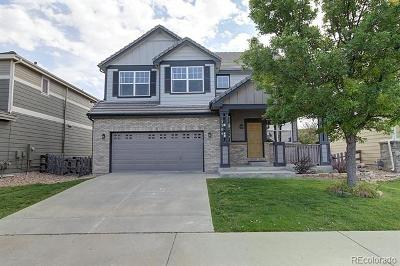 Castle Rock Single Family Home Under Contract: 3384 Prairie Vista Drive