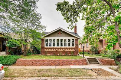 Denver Single Family Home Active: 1282 South Sherman Street