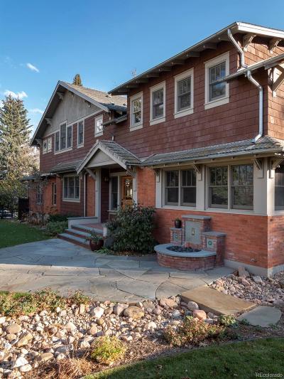 Boulder Single Family Home Active: 1590 Cascade Avenue