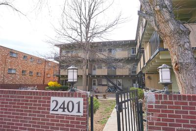 Denver CO Condo/Townhouse Under Contract: $205,000