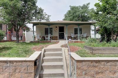 Denver Single Family Home Active: 3535 North Clayton Street