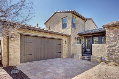 Colorado Springs Single Family Home Active: 1855 La Bellezza Grove