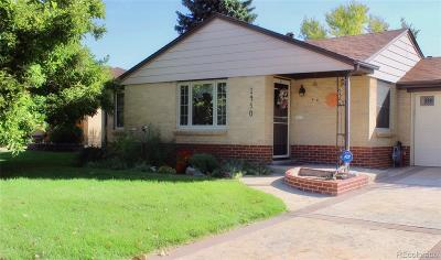 Denver Single Family Home Active: 1450 South Bellaire Street