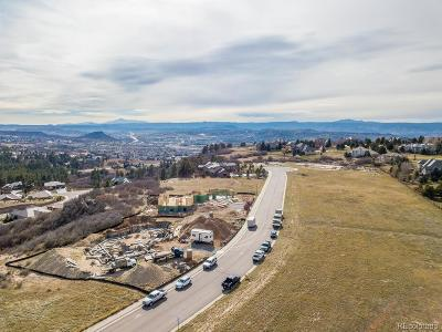Castle Rock Residential Lots & Land Under Contract: 1647 White Fir Terrace