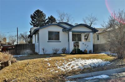 Denver Single Family Home Active: 1614 Yates Street