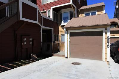 Boulder Condo/Townhouse Under Contract: 2875 Springdale Lane