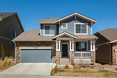 Arvada Single Family Home Under Contract: 14501 West 85th Lane