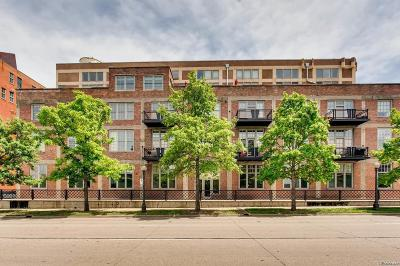 Denver Condo/Townhouse Active: 1301 Wazee Street #2E