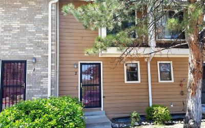 Lakewood Condo/Townhouse Active: 8771 West Cornell Avenue #2