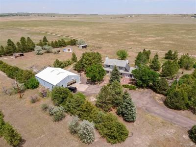 Kiowa Single Family Home Under Contract: 10413 County Road 126
