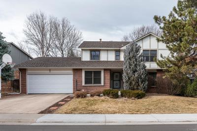 Centennial Single Family Home Active: 7435 South Milwaukee Way