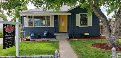 Englewood Single Family Home Active: 4581 South Acoma Street