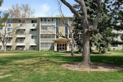 Denver Condo/Townhouse Under Contract: 9360 East Center Avenue #11C