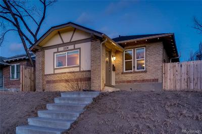Denver Single Family Home Active: 3334 North Steele Street