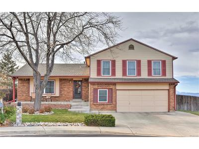 Broomfield Single Family Home Under Contract: 3338 West 11th Avenue Place