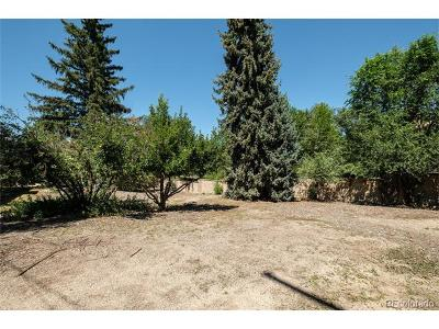 Castle Rock CO Residential Lots & Land Active: $545,000