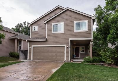 Littleton CO Single Family Home Under Contract: $484,850