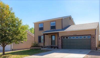 Colorado Springs Single Family Home Active: 6265 Aquatic Circle