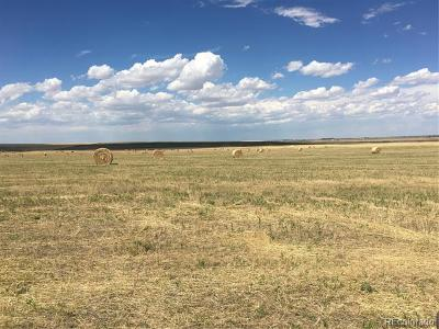 Arapahoe County Residential Lots & Land Active: 80 Acres Vacant Land