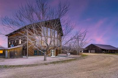 Castle Rock Single Family Home Under Contract: 6219 Lake Gulch Road