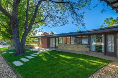 Wheat Ridge Single Family Home Active: 3290 Harlan Street