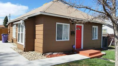 Denver Single Family Home Active: 643 Meade Street