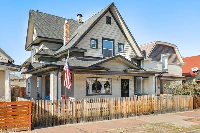 Denver Single Family Home Active: 547 Galapago Street