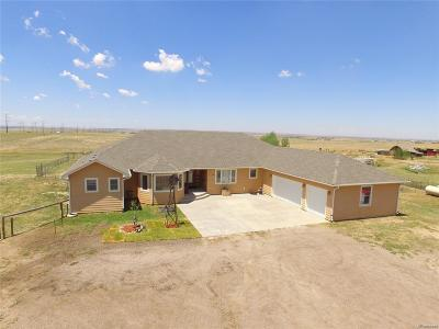 Byers Single Family Home Active: 4225 S County Road 193