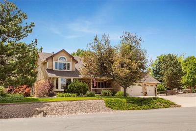 Littleton Single Family Home Under Contract: 5233 South Xenophon Court