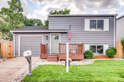Westminster Single Family Home Under Contract: 10713 Lewis Street
