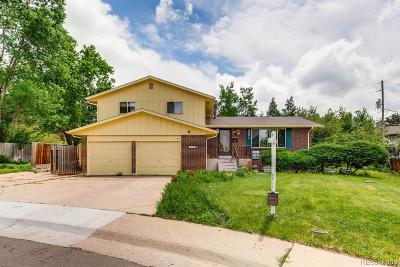 Centennial Single Family Home Active: 7558 East Davies Place