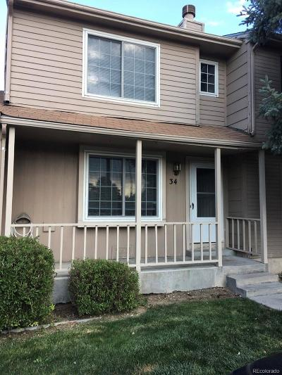 Denver Condo/Townhouse Active: 8206 Washington Street #34
