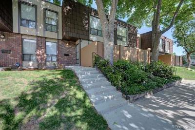 Lakewood Condo/Townhouse Active: 9346 West Utah Avenue