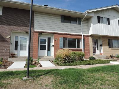 Denver Condo/Townhouse Under Contract: 9141 East Oxford Drive