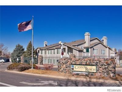 Highlands Ranch Condo/Townhouse Under Contract: 8460 Little Rock Way #102