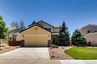 Castle Rock Single Family Home Active: 3764 Black Feather Trail