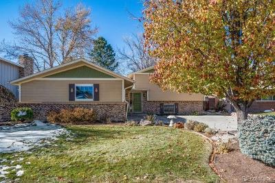Littleton Single Family Home Under Contract: 6959 South Allison Way