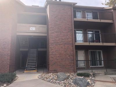 Littleton Condo/Townhouse Active: 4899 South Dudley Street #C6
