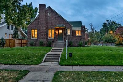 Denver Single Family Home Active: 2500 Dahlia Street