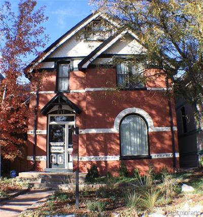 Denver Single Family Home Active: 217 West 1st Avenue