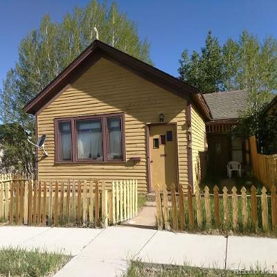 Leadville Single Family Home Under Contract: 414 West 4th Street