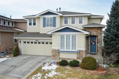 Highlands Ranch Single Family Home Under Contract: 10806 Mountshire Circle