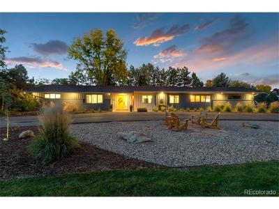 Littleton Single Family Home Active: 5101 West Wagontrail Road